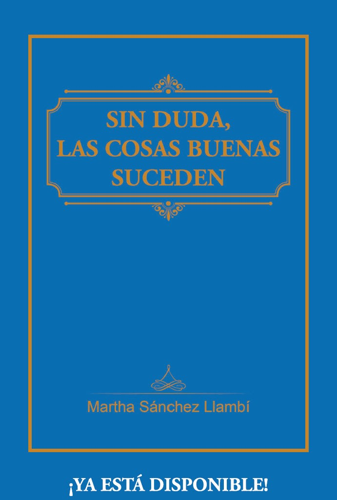 Ya puedes comprar mi nuevo libro   Marta Sanchez Llambi